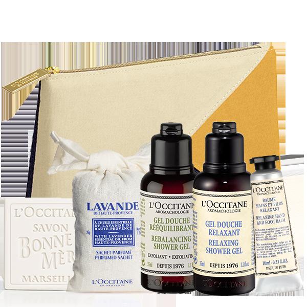 Atpalaiduojantis Aromatologijos rinkinys su kosmetine | L'OCCITANE
