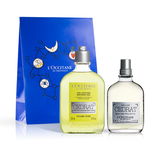 Cedrat Gift Set Uplifting Invigorating