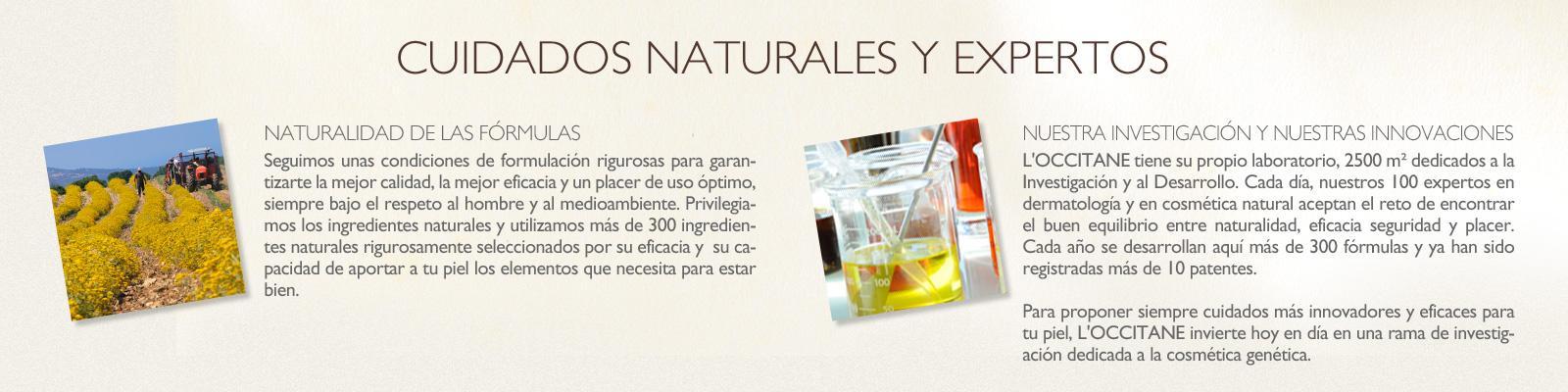 Cuidados naturales expertos - L'Occitane