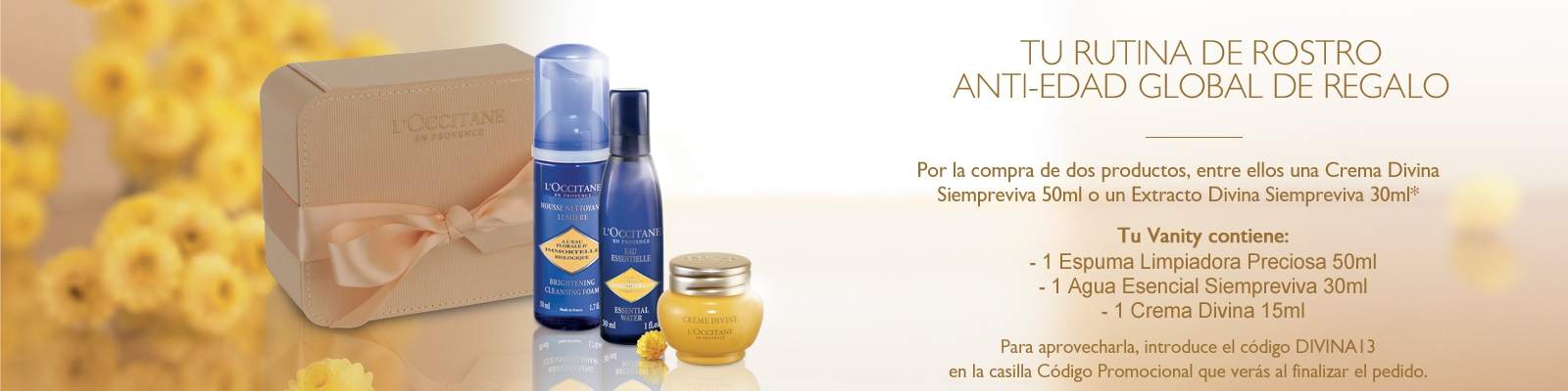 Rutina de Rostro Anti-Edad Global - L'Occitane en Provence
