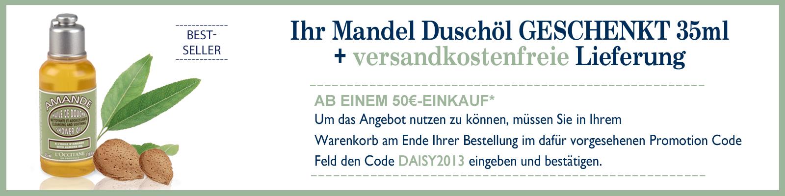 Exklusiv-Angebot Mandel Duschöl  - L'Occitane Deutschland