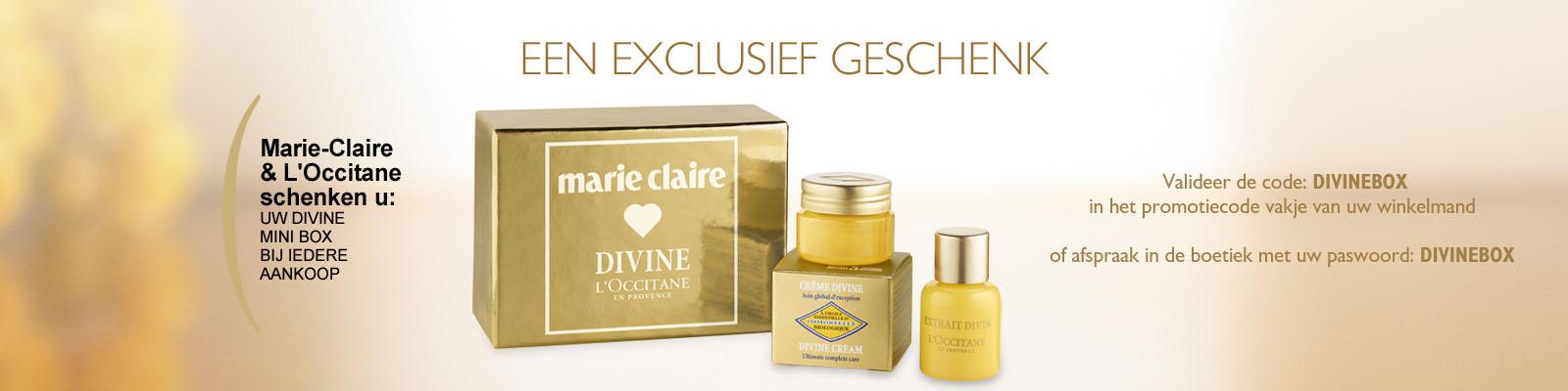aanbod Divine Marie-Claire - L'Occitane