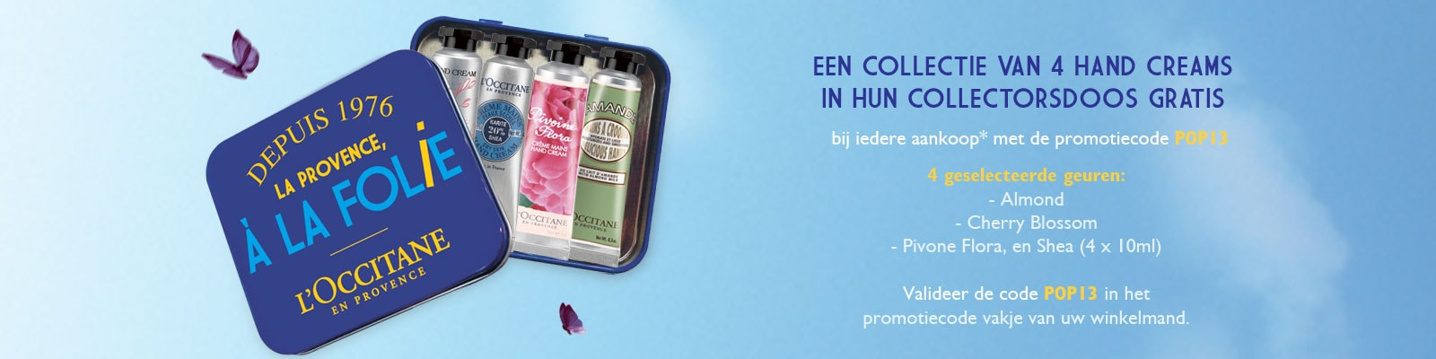 Aanbod - L'Occitane België
