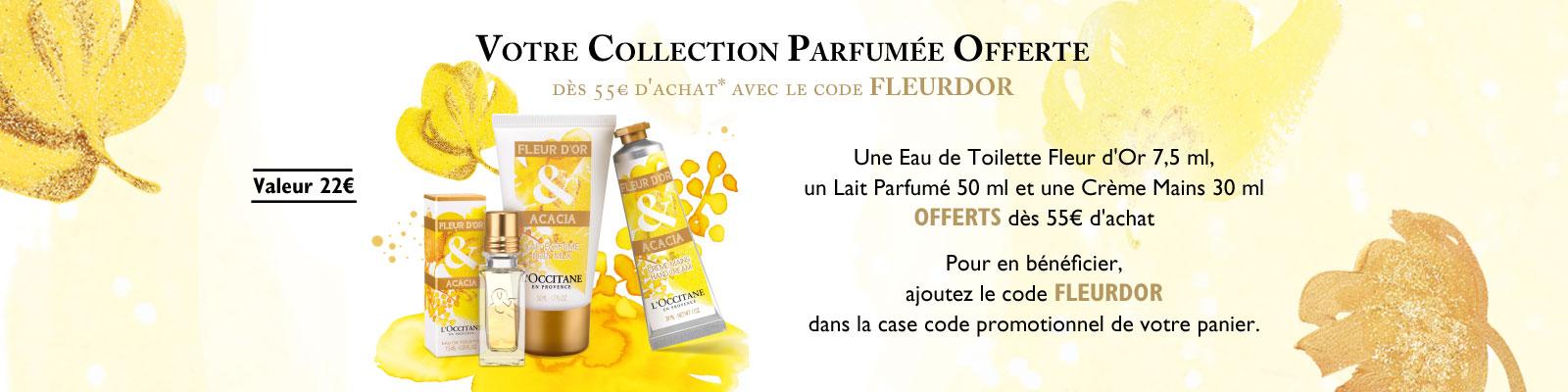 Offre Noel Fleur d'Or - L'OCCITANE BELGIQUE