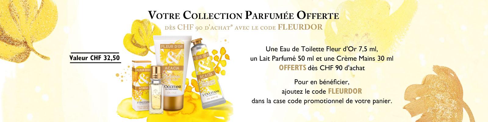 Fleur d'or - L'Occitane en Provence