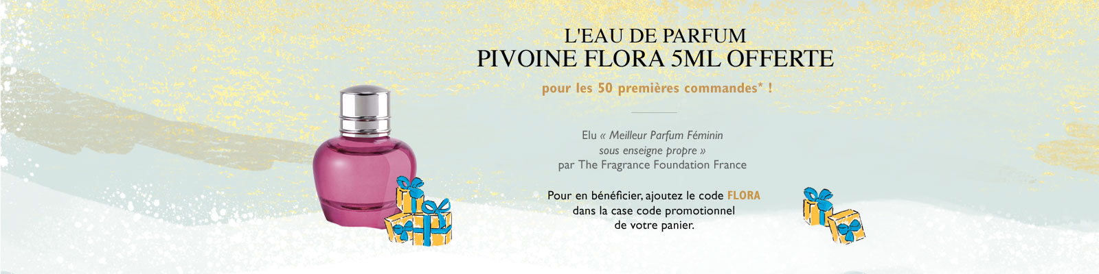 Offre Pivoine - L'Occitane France