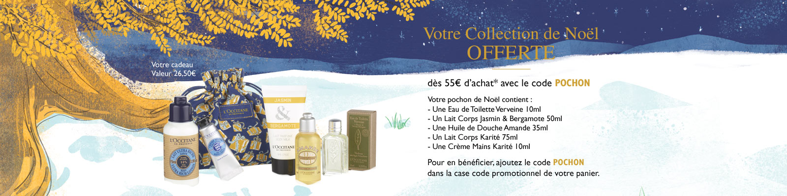 Collection de Noël - L'Occitane en Provence