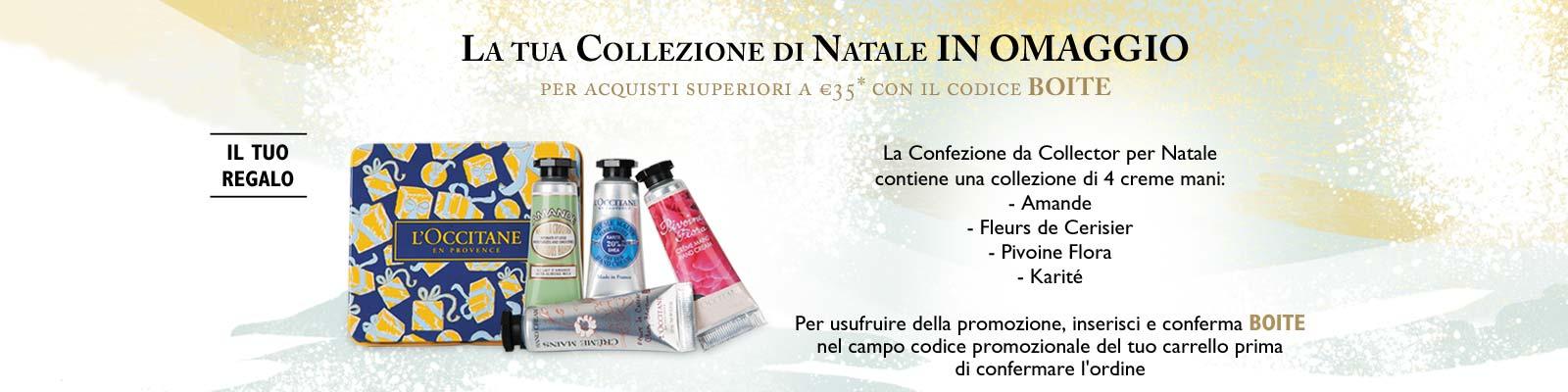Confezione da Collector per Natale - L'Occitane en Provence