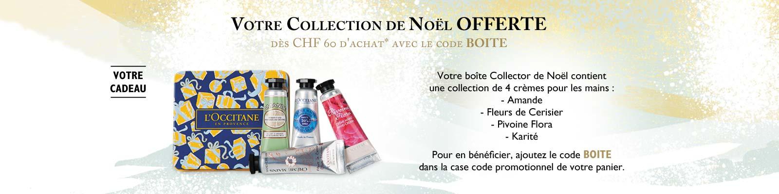 Offre : Boîte Collector de Noël - L'Occitane en Provence