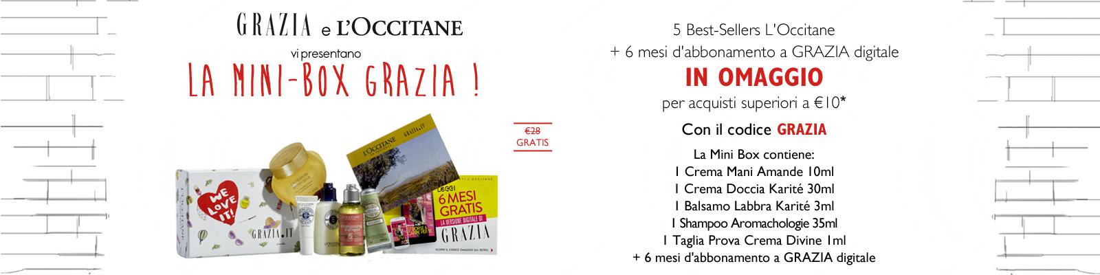 Offre Grazia- L'Occitane France