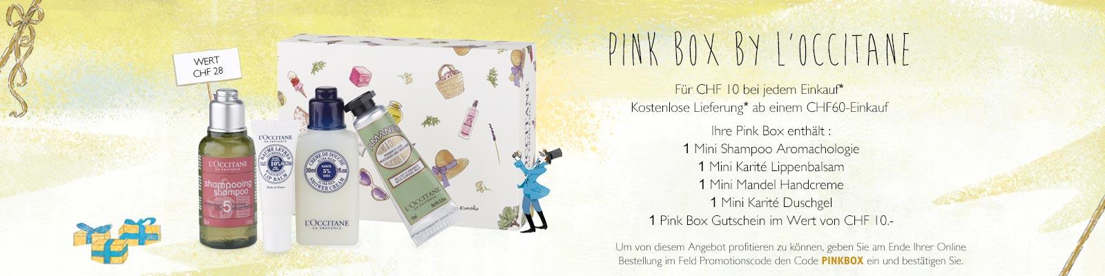 PinkBox - L'Occitane Switzerland