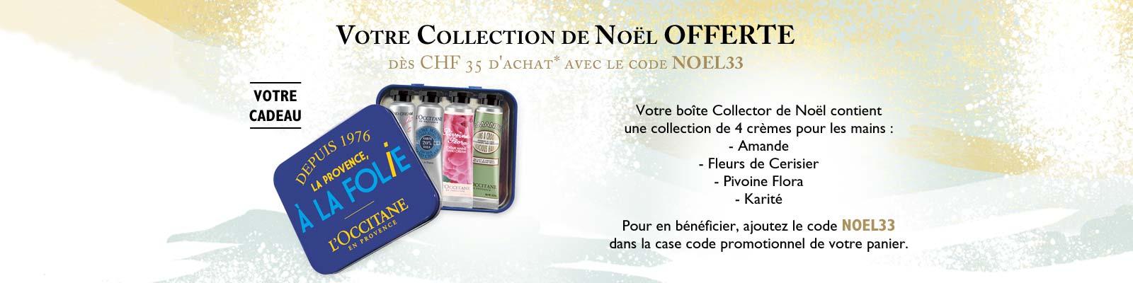 Offre Collection de Noël - L'Occitane en Provence