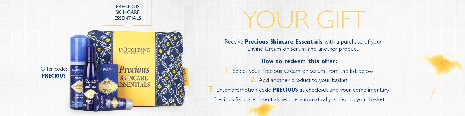 Precious Skincare Essentials