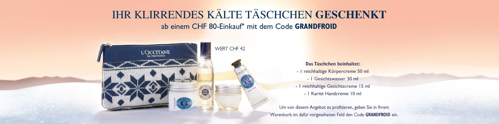 Angebot  - L'Occitane France