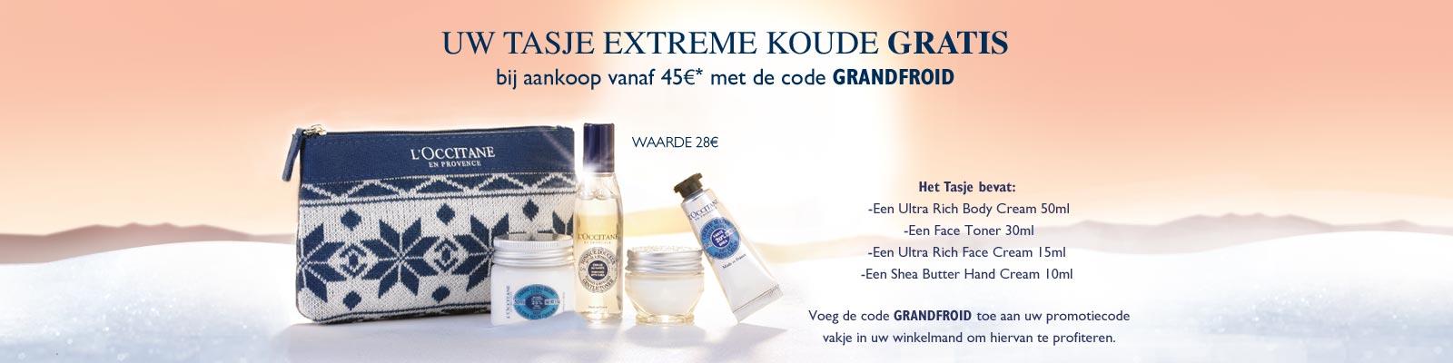 Offre Grandfroid - L'Occitane Belgium