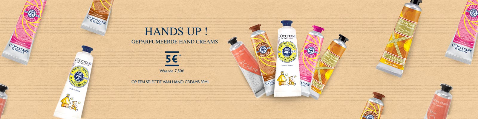 Handcream  5 Euros - L'Occitane