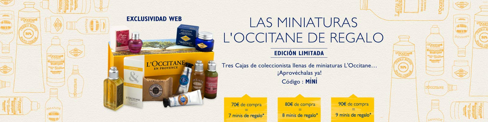 Offre miniature - L'Occitane France