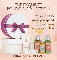 The Exquisite Boudoir collection
