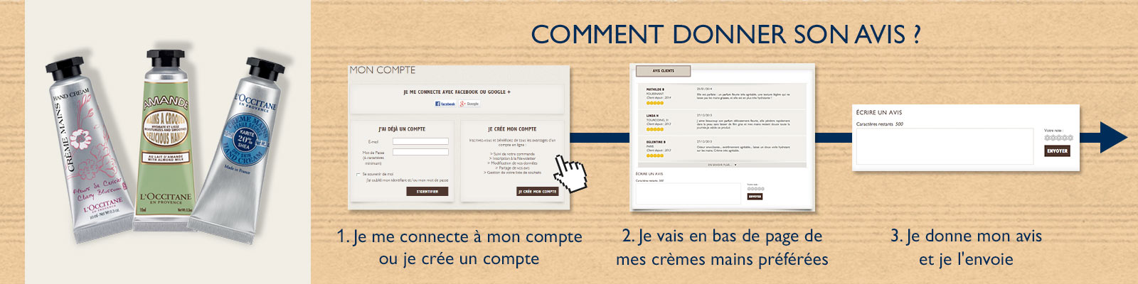 Offre Facebook Avis - L'Occitane France