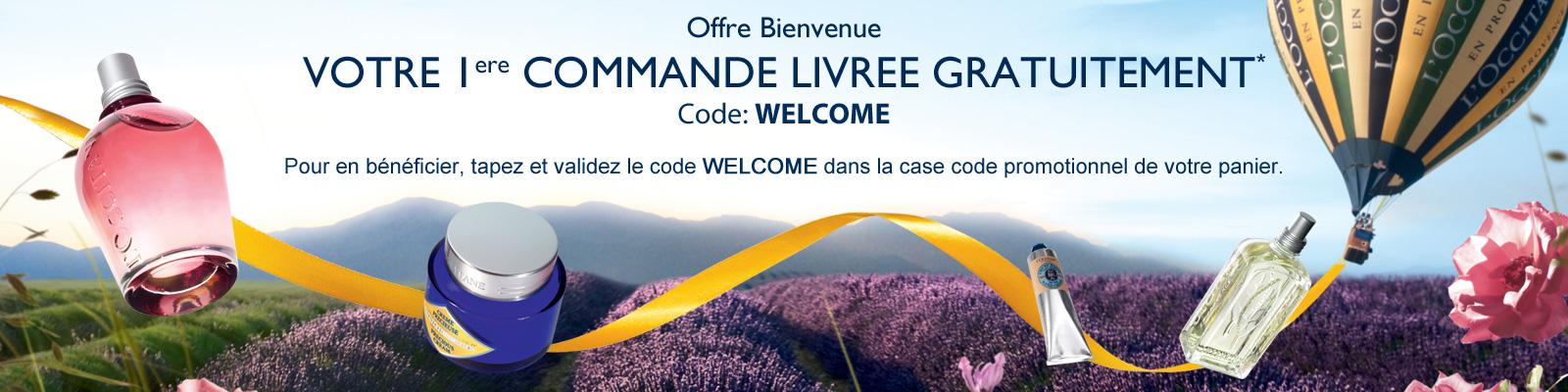 Welkomst Aanbieding - L'Occitane Belgium