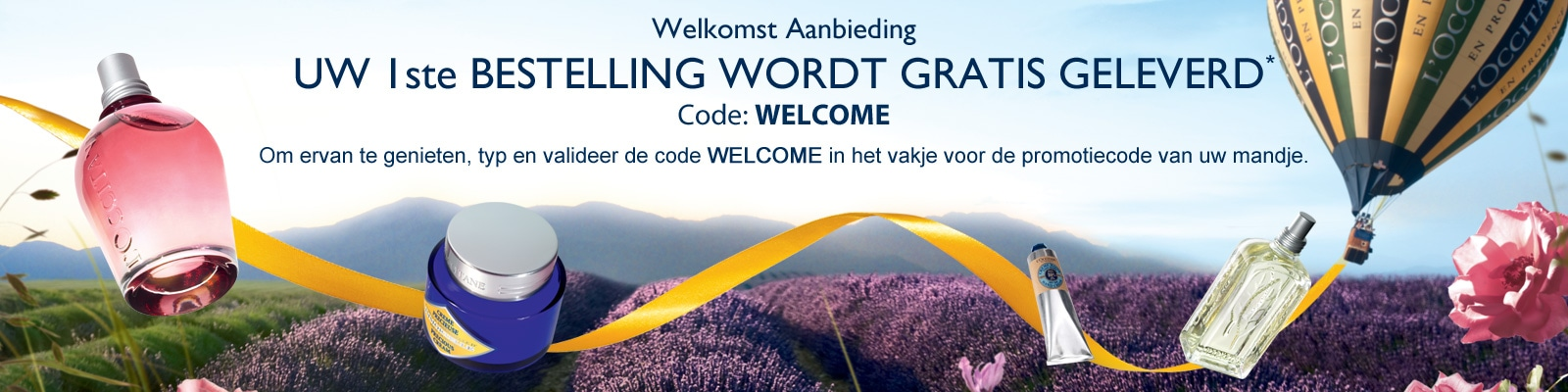 Welkomst Aanbieding - L'Occitane Nederland