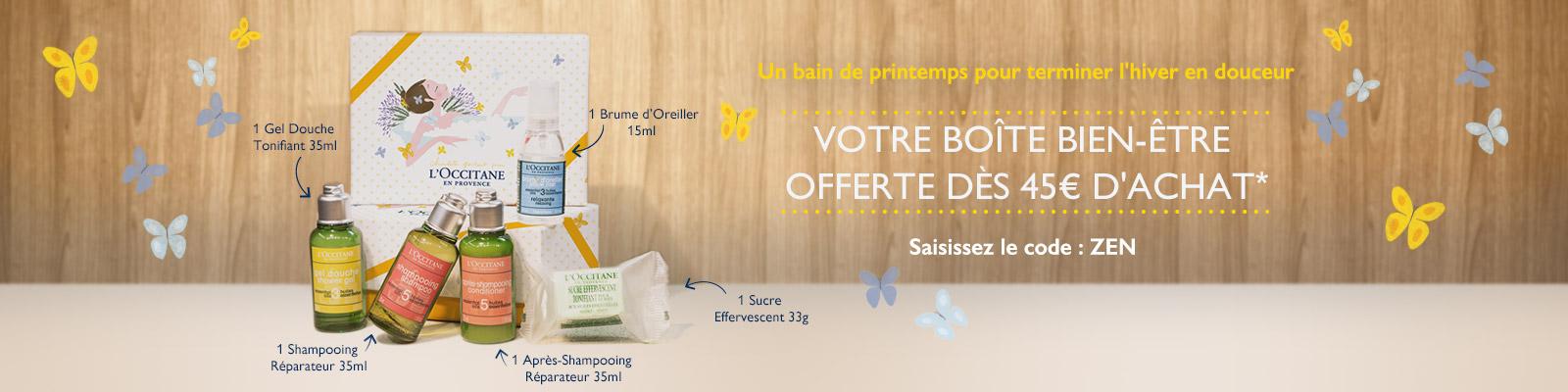 Offre Divine - L'Occitane France