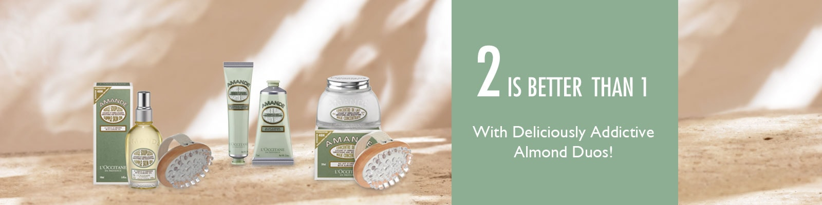 2 is better than 1 with deliciously addictive almond duos!