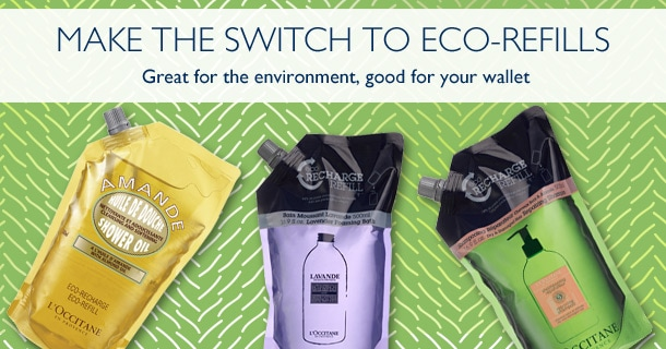 Make the switch to eco-refills