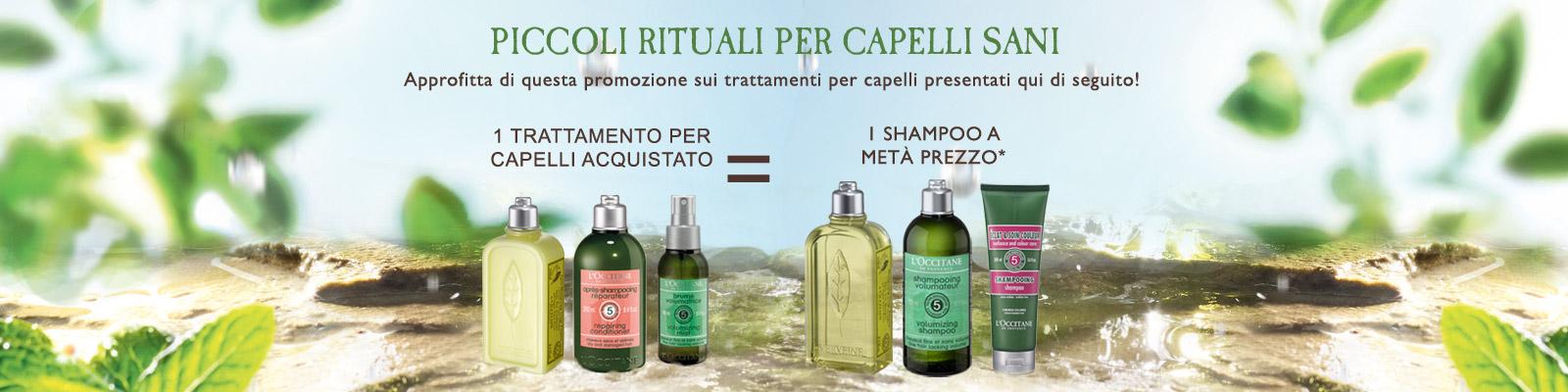 Piccoli rituali per capelli sani - L'Occitane