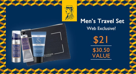Men's Travel Set