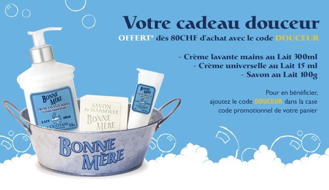 Offre Douceur  - L'Occitane Suisse