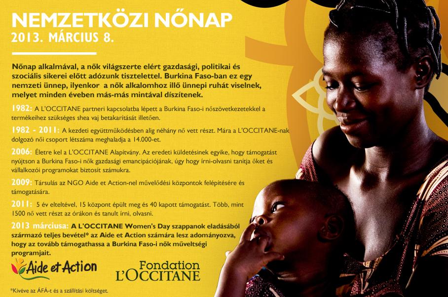 A Burkina Faso-i Nők Igaz Története
