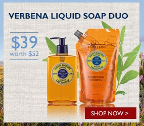 verbena liquid soap duo($39, worth $52)