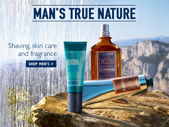 L'Occitane India Men New Range