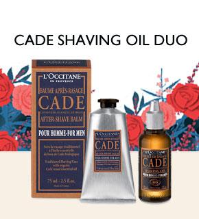 Cade Shaving Oil Duo