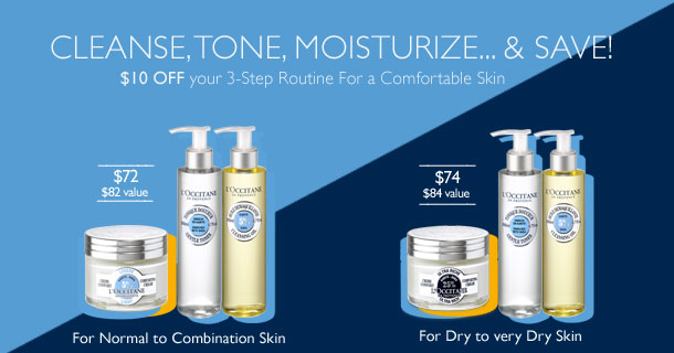 Cleanse, Tone and Moisturize