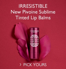 New Pivoine Sublime Tinted Lip Balms