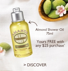 FREE Almond Shower Oil