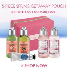 5-Piece Spring Getaway Pouch