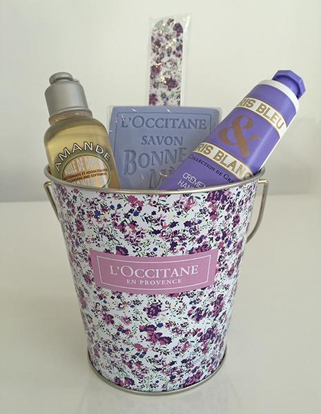 Petite Lavender Bucket