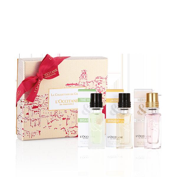 La Collection de Grasse Fragrance Trio