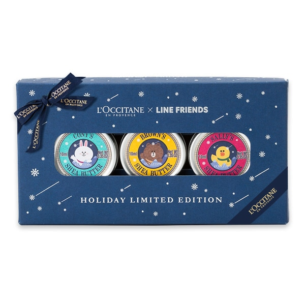 Pure Shea Butter x LINE FRIENDS Holiday Limited edition