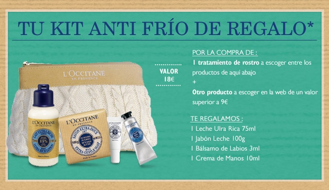 Tu kit anti-frio de regalo*