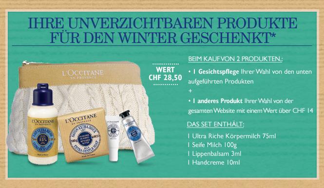 Ihre unverzichtbaren Produkte für den Winter GESCHENKT