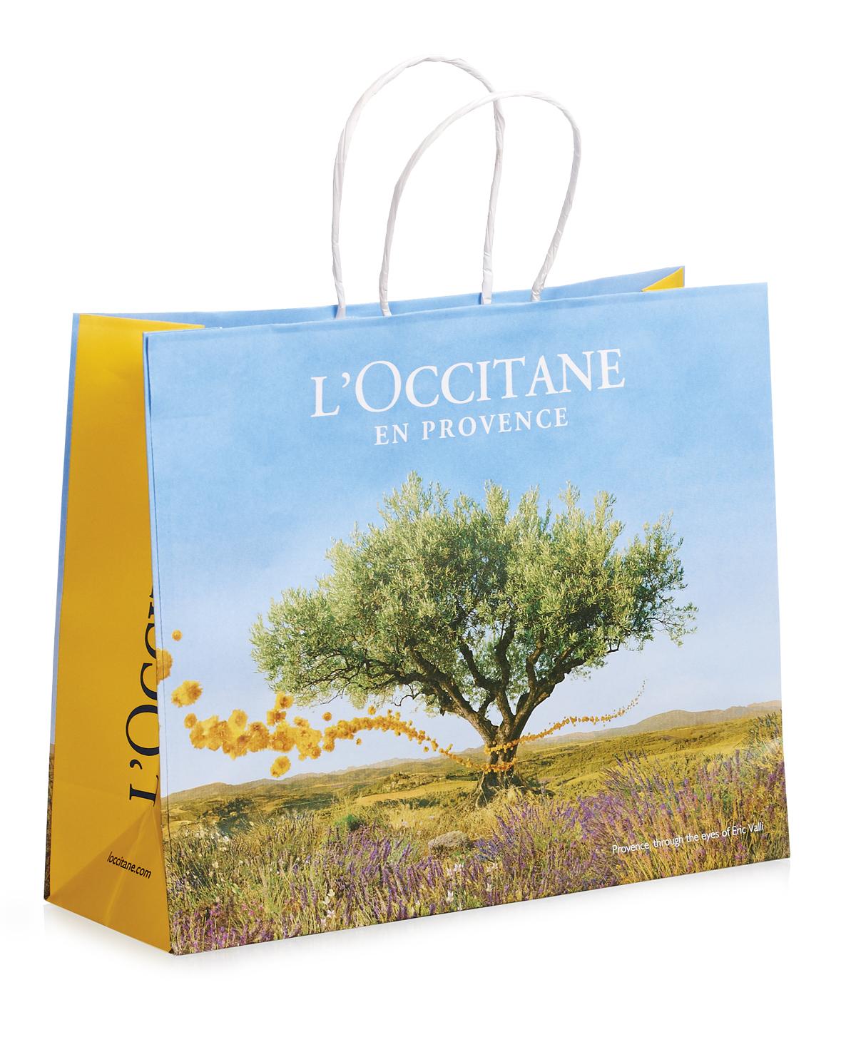 Брендированный пакет L'OCCITANE