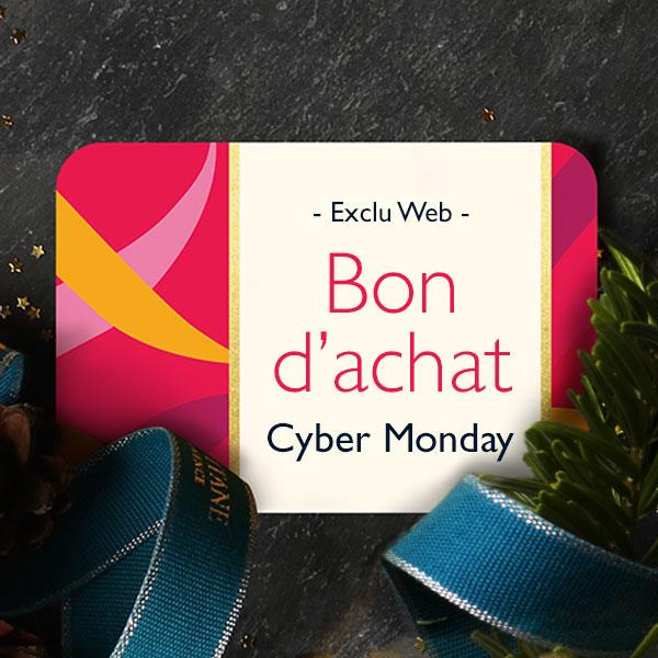 Votre bon d'achat offert. Vous recevrez votre code unique dans un second email avant le 30 Novembre 2016 minuit.