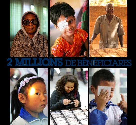 2 millions de bénéficiaires