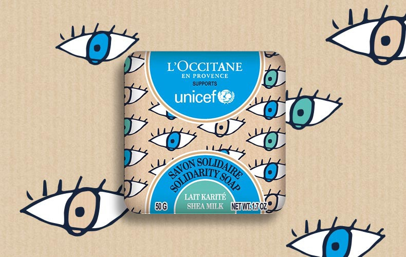 UNICEF Solidarity soap