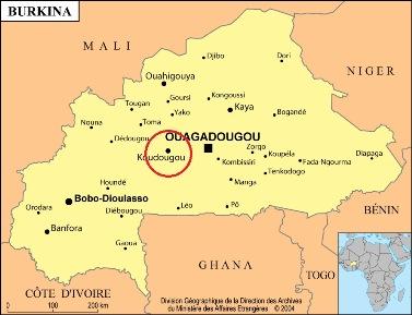 Prévention du trachome au Burkina