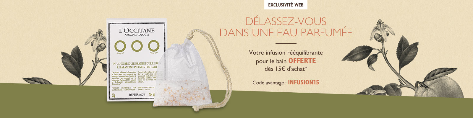 Offre Infusions
